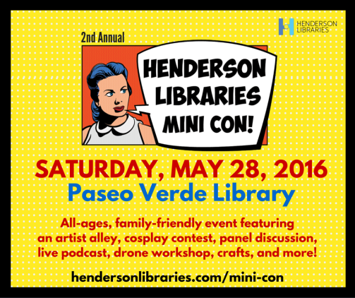 Henderson Libraries Mini Con