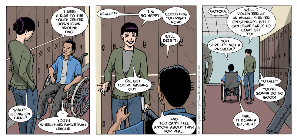 I am sorry for the lame name of today's strip.