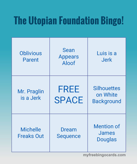 The Utopian Foundation Bingo