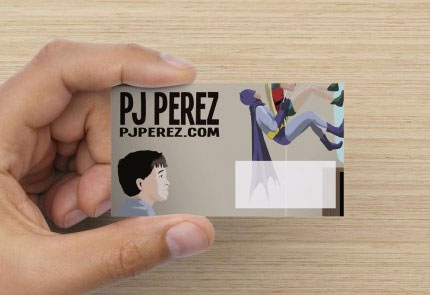 Pj Perez business cards